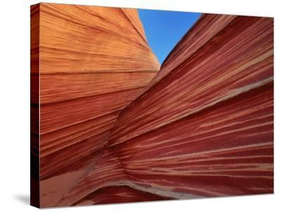 Rock formation, Utah, USA-Theo Allofs-Stretched Canvas Print
