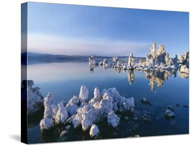 South Tufa, Tufa Towers, Mono Lake, California, USA-Jos? Fuste Raga-Stretched Canvas Print