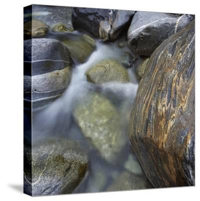 River in Verzasca Valley-Micha Pawlitzki-Stretched Canvas Print