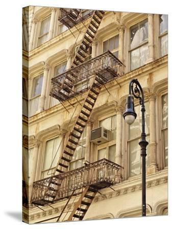 Historic Greene Street Building-William Manning-Stretched Canvas Print