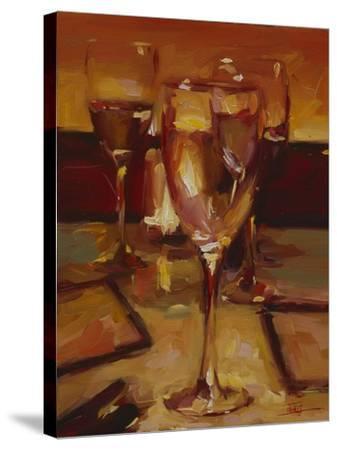 Wine Glasses, Paris-Pam Ingalls-Stretched Canvas Print