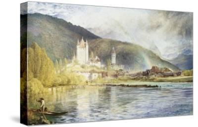 Thun, Switzerland-Alfred William Hunt-Stretched Canvas Print
