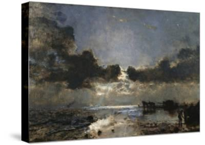 Dusk--Stretched Canvas Print