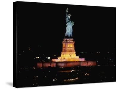 Statue of Liberty-Joseph Sohm-Stretched Canvas Print