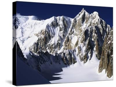 Mont Maudit in the French Alps-S^ Vannini-Stretched Canvas Print