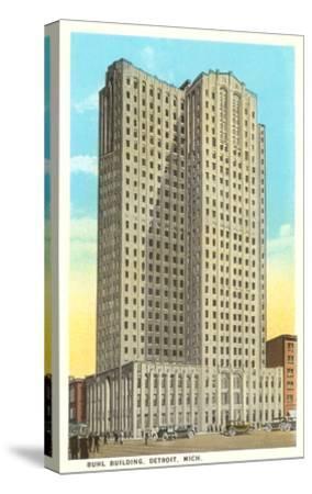 Buhl Building, Detroit, Michigan--Stretched Canvas Print