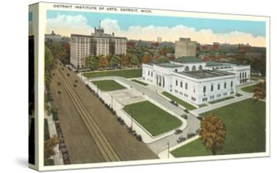 Institute of Arts, Detroit, Michigan--Stretched Canvas Print