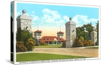 Swope Park, Kansas City, Missouri--Stretched Canvas Print