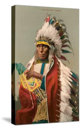 Tall Man Dan, Sioux Indian--Stretched Canvas Print