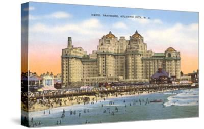 Hotel Traymore, Atlantic City, New Jersey--Stretched Canvas Print