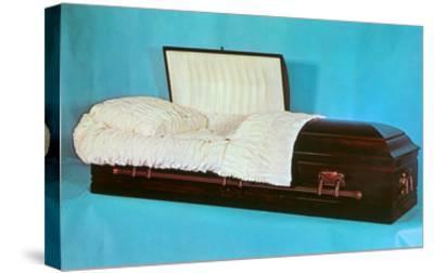 Comfy Casket--Stretched Canvas Print