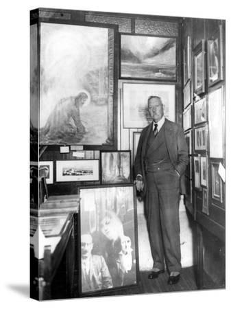 Arthur Conan Doyle--Stretched Canvas Print