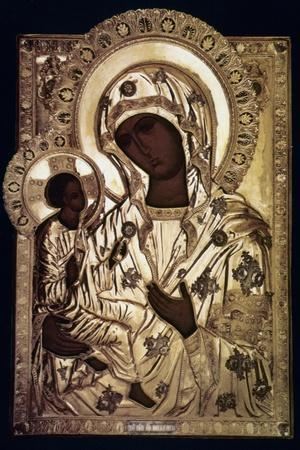 Our Lady Of Yevsemanisk--Stretched Canvas Print