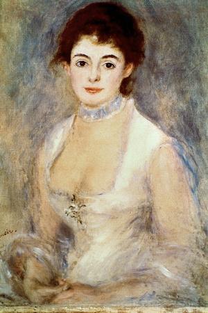 Renoir: Madame Henriot-Pierre-Auguste Renoir-Stretched Canvas Print
