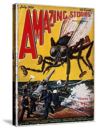 War Of The Worlds, 1927-H.G. Wells-Stretched Canvas Print