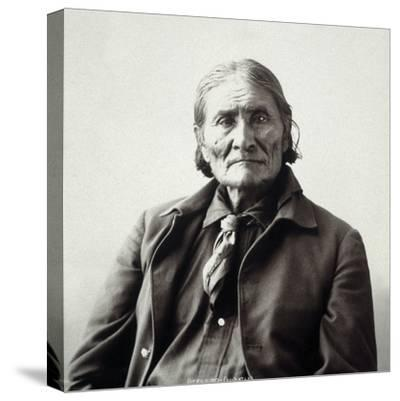 Geronimo (1829-1909)-Adolph F^ Muhr-Stretched Canvas Print