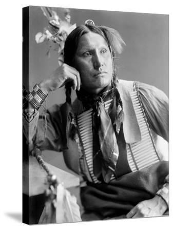 Sioux Native American, C1900-Gertrude Kasebier-Stretched Canvas Print