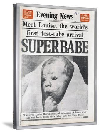 Test-Tube Baby, 1978--Stretched Canvas Print
