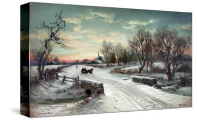 Christmas Morn, C1885-W^C^ Bauer-Stretched Canvas Print