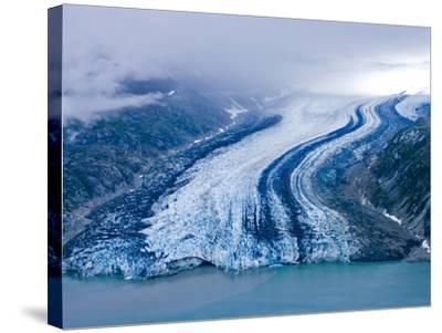 Lamplugh Glacier, Glacier Bay National Park, Alaska, Pacific Northwest, Usa-Jerry Ginsberg-Stretched Canvas Print