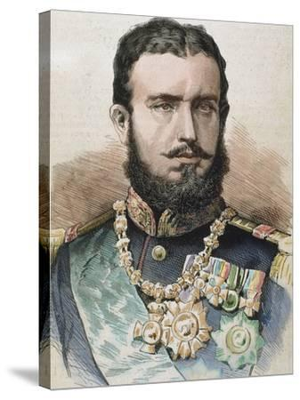 Prince (1866-81) and King of Romania (1881-1914) by A. Carretero-Prisma Archivo-Stretched Canvas Print