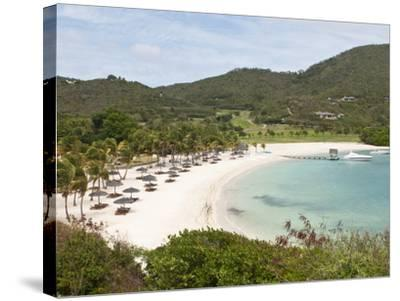 Canouan Resort at Carenage Bay, Canouan Island, St. Vincent and the Grenadines, Windward Islands-Michael DeFreitas-Stretched Canvas Print