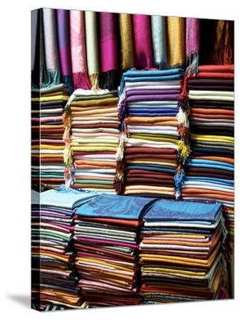 Grand Bazaar, Istanbul, Turkey, Europe--Stretched Canvas Print