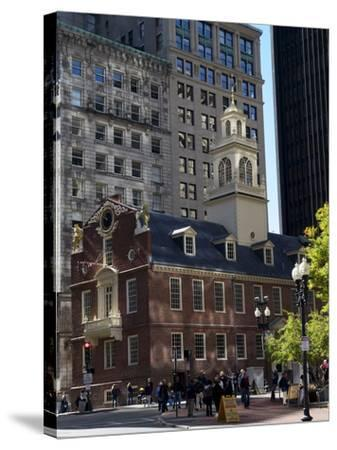 Old State House, Boston, Massachusetts, New England, USA--Stretched Canvas Print