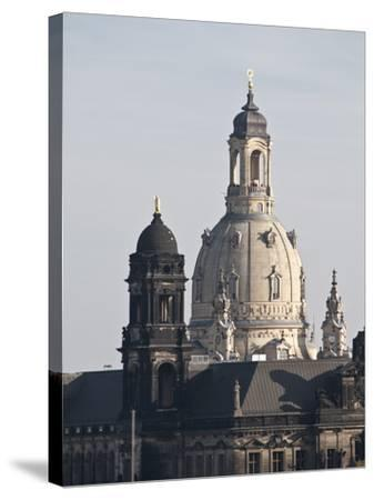Dresden, Saxony, Germany, Europe-Michael Snell-Stretched Canvas Print