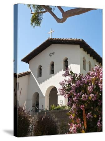 Old Mission San Luis Obispo De Tolosa, San Luis Obispo, California, USA-Michael DeFreitas-Stretched Canvas Print