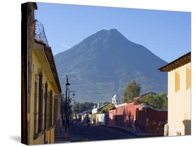 Volcan De Agua, 3765M, Antigua, Guatemala, Central America-Christian Kober-Stretched Canvas Print