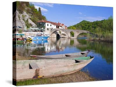 Rijeka Crnojevica, Montenegro, Europe-Michael Runkel-Stretched Canvas Print