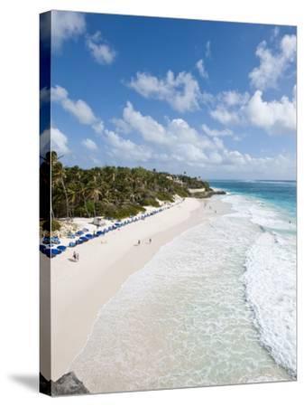 Crane Beach at Crane Beach Resort, Barbados, Windward Islands, West Indies, Caribbean-Michael DeFreitas-Stretched Canvas Print