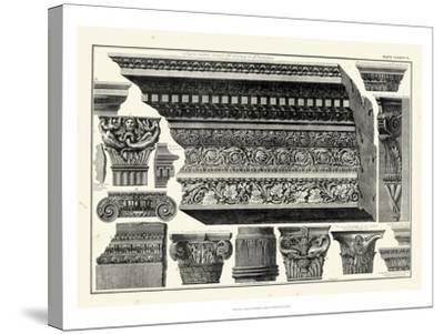 Cornice et Damiani-Giovanni Battista Piranesi-Stretched Canvas Print
