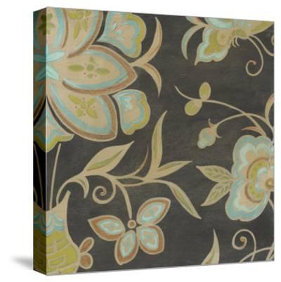 Heirloom Floral II-Erica J^ Vess-Stretched Canvas Print