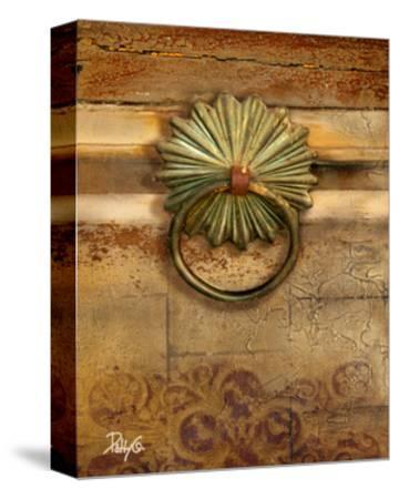 Handles on Gold I-Patty Q^-Stretched Canvas Print