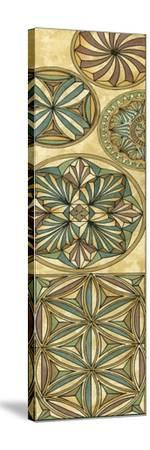 Non-Embellish Stained Glass Panel I-Vision Studio-Stretched Canvas Print