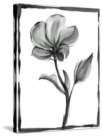 Non-embellished Sumi-e Floral I-Ethan Harper-Stretched Canvas Print