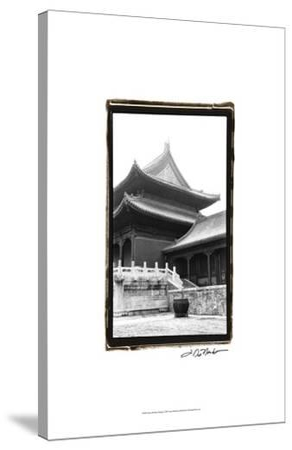 Palace Rooftops, Beijing-Laura Denardo-Stretched Canvas Print