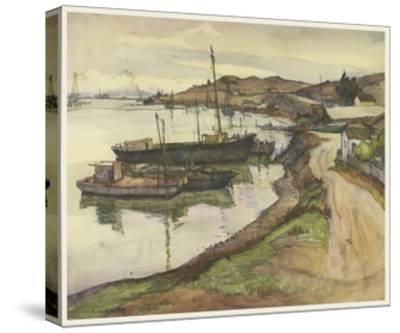 European Sketchbook II-Rowena Meeks Abdy-Stretched Canvas Print