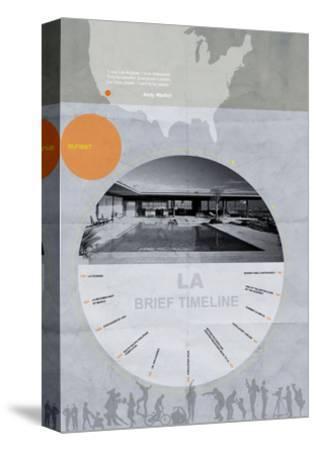 La Poster-NaxArt-Stretched Canvas Print