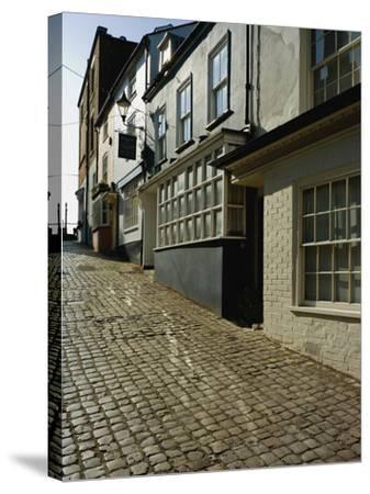 Old Town, Lymington, Hampshire, England, United Kingdom, Europe-David Hughes-Stretched Canvas Print