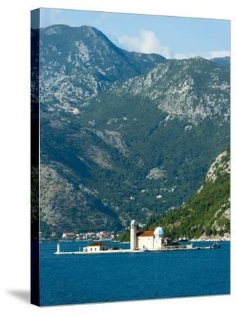 Gospa Od Skrpjela (Our Lady of the Rock) Island, Bay of Kotor, UNESCO World Heritage Site, Monteneg-Emanuele Ciccomartino-Stretched Canvas Print