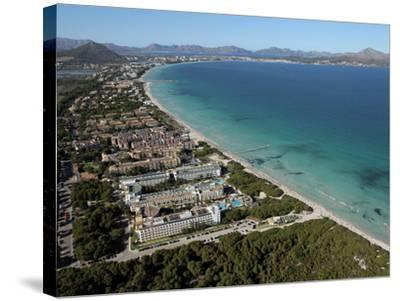 Platja D'Alcudia, Mallorca, Balearic Islands, Spain, Mediterranean, Europe-Hans Peter Merten-Stretched Canvas Print
