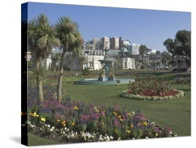 The Promenade Gardens, Torquay, Devon, England, United Kingdom, Europe-James Emmerson-Stretched Canvas Print