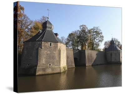 Fortified Spanish Gate (Spanjaardsgat), Spanish Troops Entry Point to the City in 1624, Breda, Noor-Stuart Forster-Stretched Canvas Print