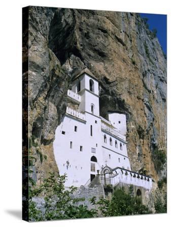 Ostrog Monastery, Tramontana, Montenegro, Europe-Stuart Black-Stretched Canvas Print