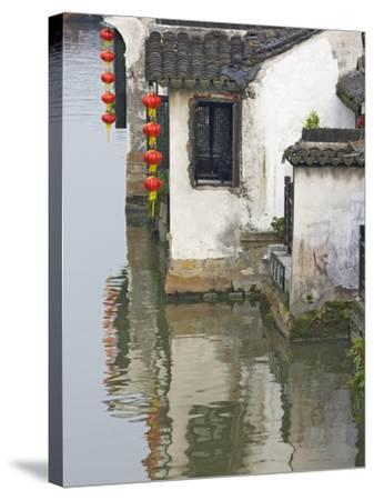 Old Residence Along the Grand Canal, Xitang, Zhejiang, China-Keren Su-Stretched Canvas Print