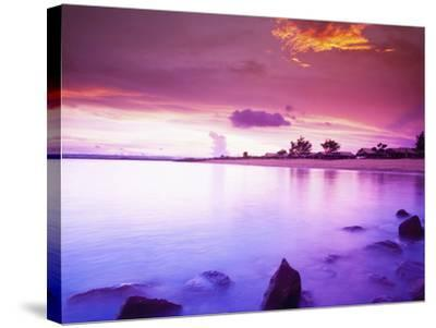 Beautiful Sunset, Bali, Indonesia-Micah Wright-Stretched Canvas Print