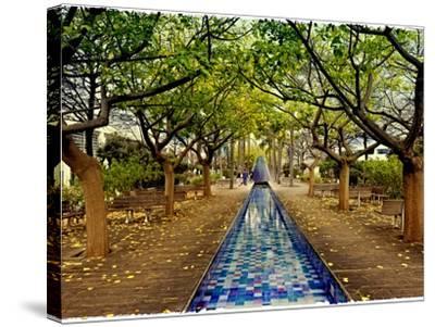 Parque Das Nacoes. Lisbon, Portugal-Mauricio Abreu-Stretched Canvas Print